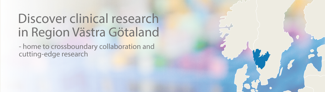 Discover clinical research in Region Västra Götaland